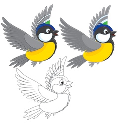 Titmouse vector
