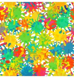 Splash abstract seamless pattern background vector