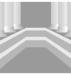 Greek pillars vector