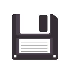 Diskette disk retro vector
