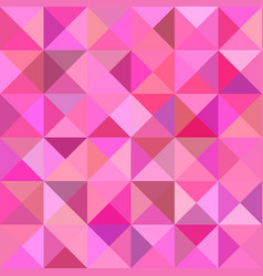 Geometrical abstract triangle tiled background - vector