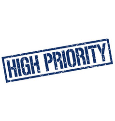 High priority stamp vector
