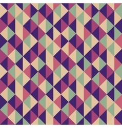 Geometric triangles background mosaic vector