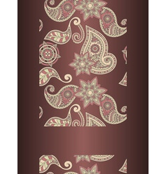 hand drawn paisley vector image