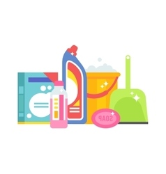 Home chemistry isolated vector