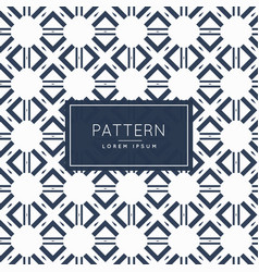 Abstract geometric shapes pattern background vector