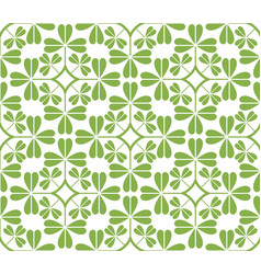 Greenery leaf ornament seamless pattern background vector