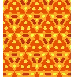 Orange yellow brown color abstract geometric vector