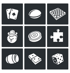 Board games icon vector