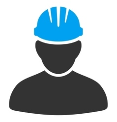 Worker person icon vector