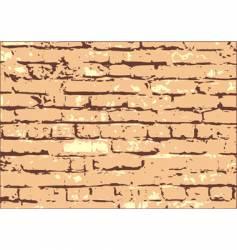 Brick wall texture vector