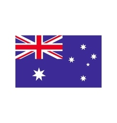Flag of Australia icon flat style vector image