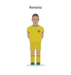 Football kit romania vector