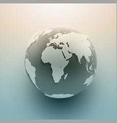 Globe background vector