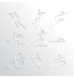 Sports Icons Collection vector image