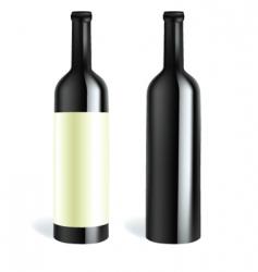 bottle2 vector image