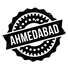 Ahmedabad stamp rubber grunge vector