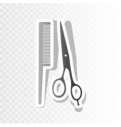 barber shop sign new year blackish icon vector image vector image