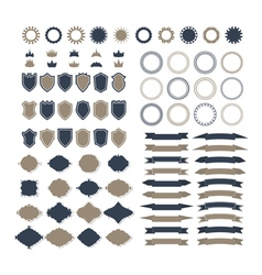Collection of premium design elements Set of vector image vector image