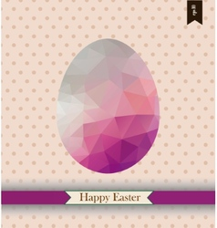 Easter greeting card with place for your text vector image vector image