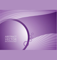 Purple abstract background with copy-space vector