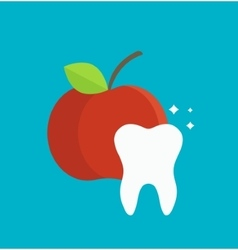 Tooth care infographics element vector