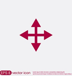 Move arrows vector