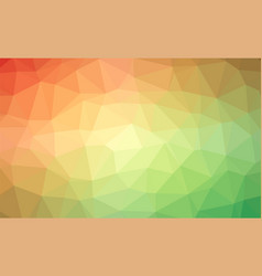 abstract rainbow colorful lowploly of many vector image vector image