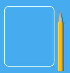 banner for posts and note template with place for vector image
