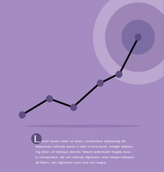 chart and graph Infographics vector image
