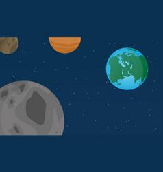 flat world design style vector image