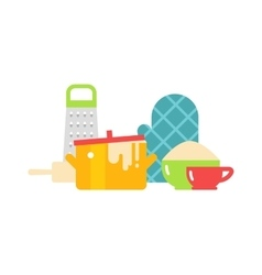 Kitchenware isolated vector image vector image