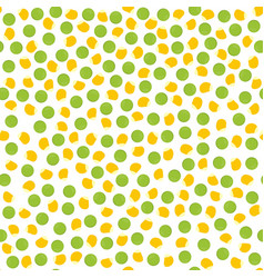 pepper and corn seed pattern vector image