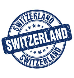 Switzerland stamp vector