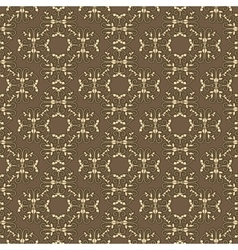 Abstract pattern in vintage style vector