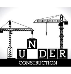 Construction design ilustration vector