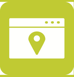 Location web advertising vector