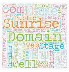 Eu domains text background wordcloud concept vector