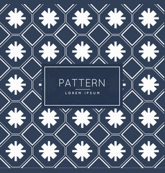 Abstract geometric shapes pattern design vector