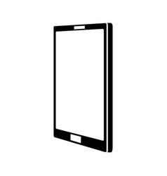 Black icon cellphone cartoon vector