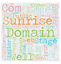Eu domains text background wordcloud concept vector