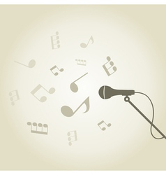 Microphone4 vector image vector image