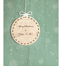 Rustic christmas background vector