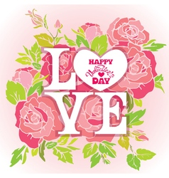 Love rose 380 vector