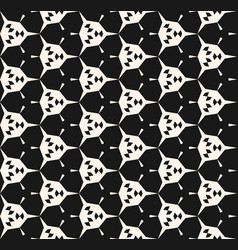 abstract geometric seamless pattern angular shape vector image
