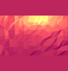 Abstract triangular mosaic vector