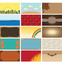 Art backgrounds vector