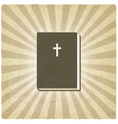 Bible old background vector image vector image