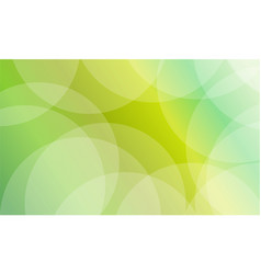 Collection of green abstract background vector