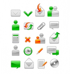 office web icon vector image